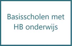 Basisscholen met HB onderwijs