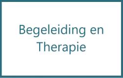 Begeleiding en therapie