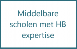 Middelbare scholen met HB expertise